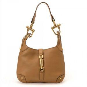 Gucci Small Nailhead Shoulder Leather Bag